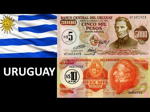 URUGUAY 5000 AND 10000 PESOS