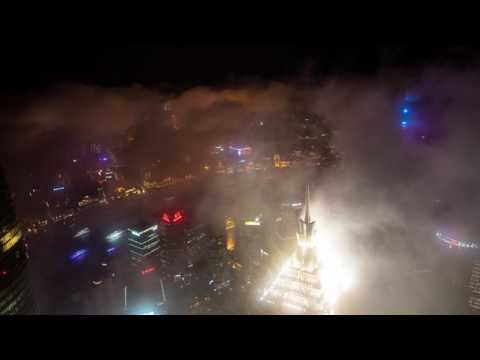 SHANGHAI World Finance Centre Timelapse 4K
