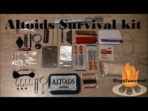 Altoids survival kit 2 0