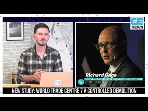 New Study Supports WTC7 Brought Down By Controlled Demolition - Richard Gage on CE NEWS