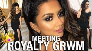 GET GLAM WITH ME: I MET ROYALTY !!!
