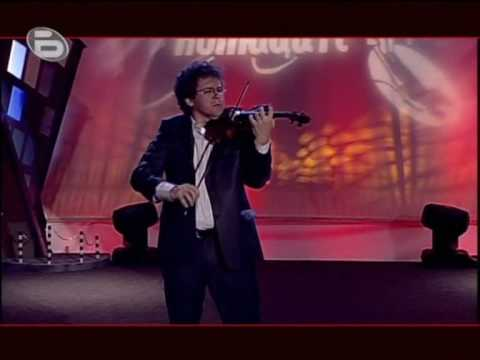 "Concertgebouw Orchestra Concertmaster Vesko Eschkenazy plays his own arrangement of ""Ochi Chornie"""