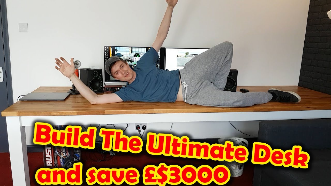 Build The Ultimate 3 Meter Long Computer Desk Dinner Table
