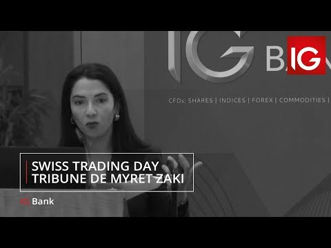 Swiss Trading Day : tribune de Myret Zaki