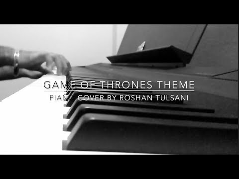 EPIC GAME OF THRONES THEME | HBO | Piano Cover by Roshan Tulsani