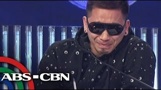 Crying Jhong Hilario walks out on