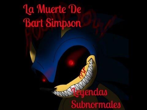La Muerte De Bart Simpson- Leyendas Subnormales- Temporada 1-  Capitulo 1
