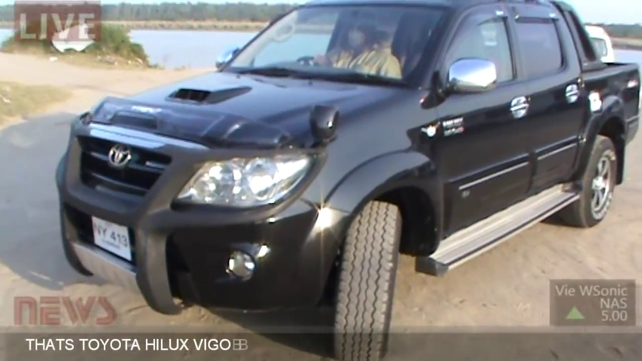 Toyota Hilux Vigo 4x4 Inter Cooler Turbo Full Review Youtube