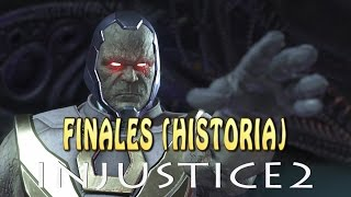 INJUSTICE 2: DARKSEID / Todos los finales (hasta el momento)