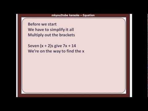 Equation (Karaoke)