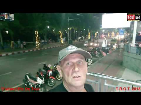 BEACH RD PATTAYA FRIDAY 15th JUNE 2018 THAILAND