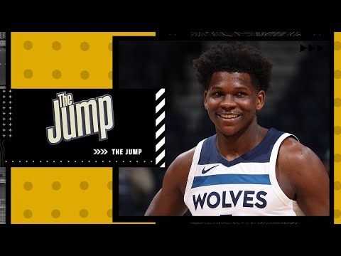 What is the ceiling for Anthony Edwards with the Timberwolves? | The Jump