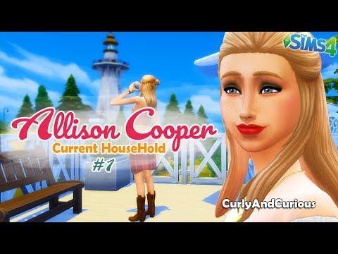 Nella vita di Allison Cooper! | The Sims 4 // Current Household #1