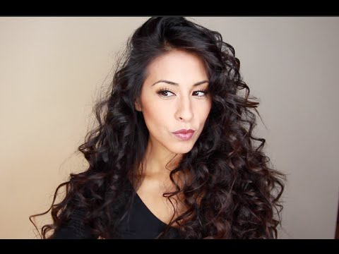 Big Hair Tutorial Volumous Tight Curls Rissrose2 Youtube