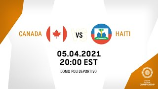 CFC 2021 | Canada vs Haiti