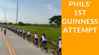 Philippines' Trinx Guinness World Record 2018 (1st attempt)