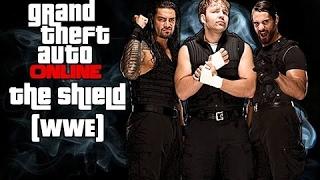 GTA 5 The Shield (WWE)