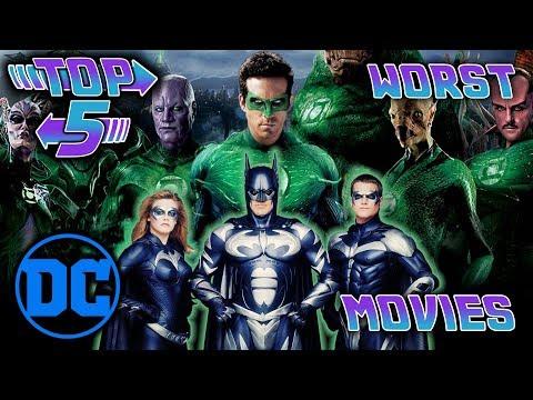 Top 5 Worst DC Movies