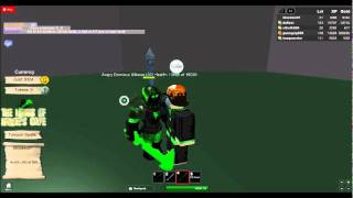 a trick to how to beat bosses in any rgp game in roblox