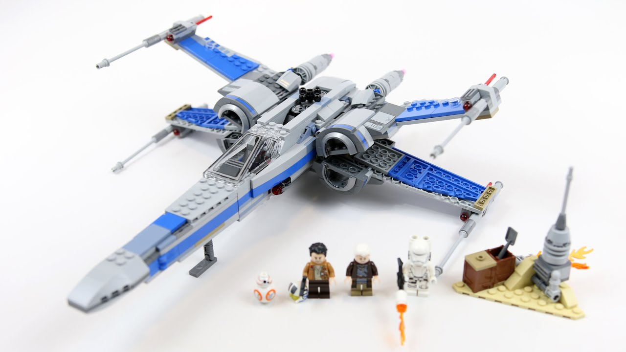 Lego star wars poe s x wing fighter review 75102 youtube - Lego Star Wars Resistance X Wing Fighter Timelapse Review Set 75149 Youtube