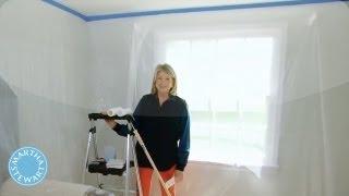 ASK MARTHA Painting A Ceiling - Martha Stewart