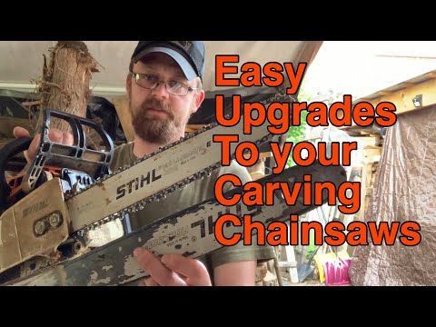 Easy upgrades to your carving saw !