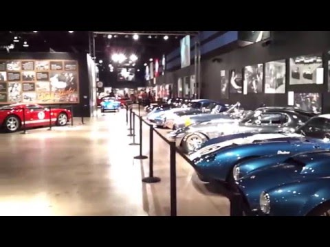 Shelby American Heritage Museum FULL GALLERY TOUR (36mins) 2015