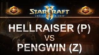 StarCraft 2 - LOTV 2017 - hellraiser (P) v PengWin (Z) on Whirlwind