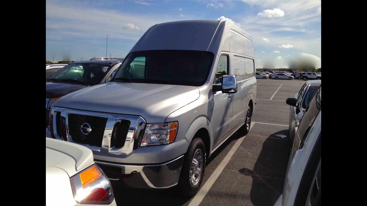 2012 Nissan Nv2500 Hd Cargo Van 5 6l V8 Start Up Quick Tour Rev With Exhaust View 7 Miles
