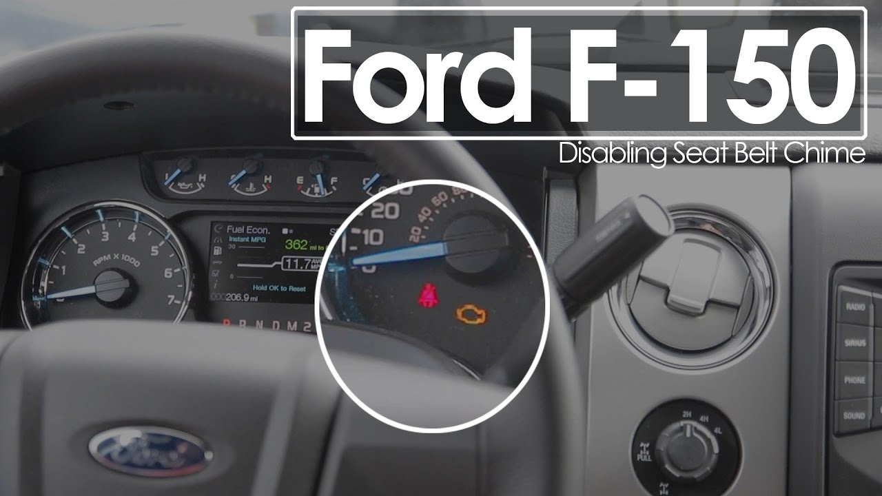 turning off seat belt chime 2014 ford f 150 how to morrie s minnetonka ford mn [ 1280 x 720 Pixel ]
