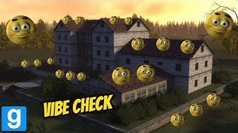 VIBE CHECK IN GMOD!!! (smiley nextbot) FT. SHOOTABIRDIE