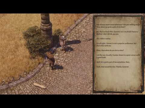Chatting with mercenaries [cut content] | Spellforce 3: Soul Harvest |