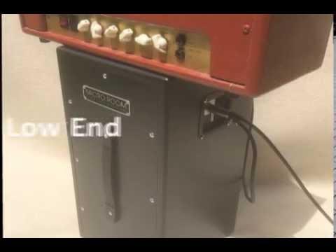 MICRO ROOM vs DEMETER SSC-1 Silent Speaker Cabinet - isolation ...