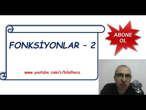 fonksiyonlar - 2   10.sınıf   TYT - AYT - YouTube 6a01624787