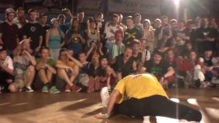 Nadia vs Paulina Outbreak Europe bgirl battle