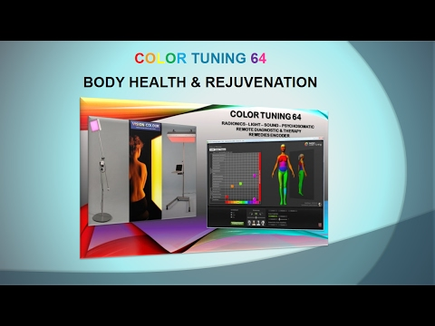 Color Tuning 64 - The Incredible Power of Light, Sound & QRS Therapy