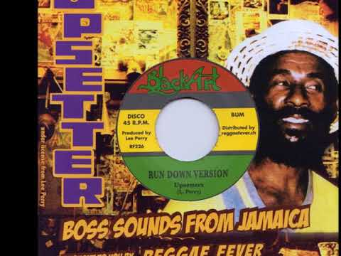 Danny Clarke - Nuh Fe Run It Down b/w Upsetters - Run Down Version