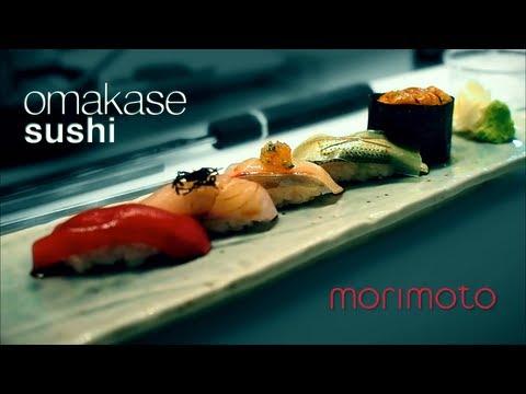 How to make : morimoto omakase sushi course