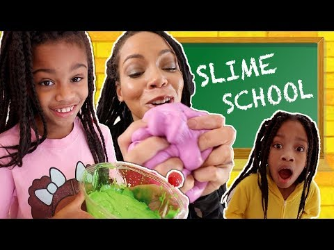 Slime School Get Caught Sneaking -  New Toy School