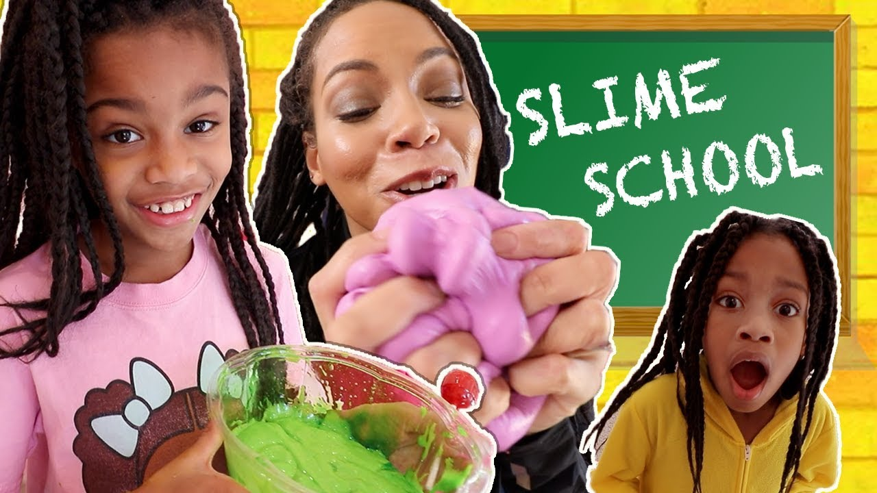 Slime School Get Snacking Snakeing - Neue Spielzeugschule video