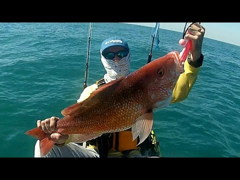 Texas Offshore Kayak Fishing: State Water Red Snapper