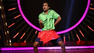 D4 Junior Vs Senior I Jishnu in 'just dance' round I Mazhavil Manorama