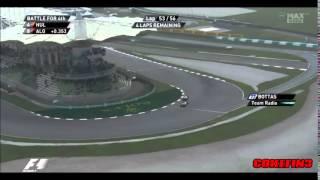 ''Felipe, Valtteri is faster than you'' - Williams team order 2014 Malaysia