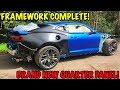 Rebuilding A Wrecked 2018 Camaro ZL1 Part 9