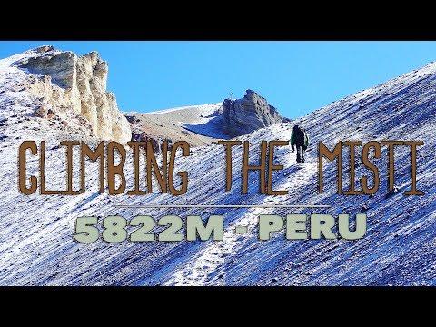 Climbing the volcano Misti  (5822m) - Trekking Peru