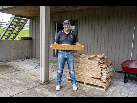 ReMoving and RePurposing Hardwood