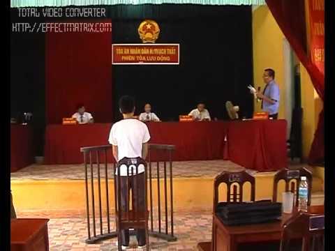 Phiên tòa xét xử lưu động tại xã Hương Ngải