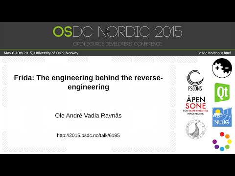 Ole André Vadla Ravnås - Frida: The engineering behind the reverse-engineering
