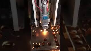 12mm carbon steel fiber laser cutting machine XT LASER