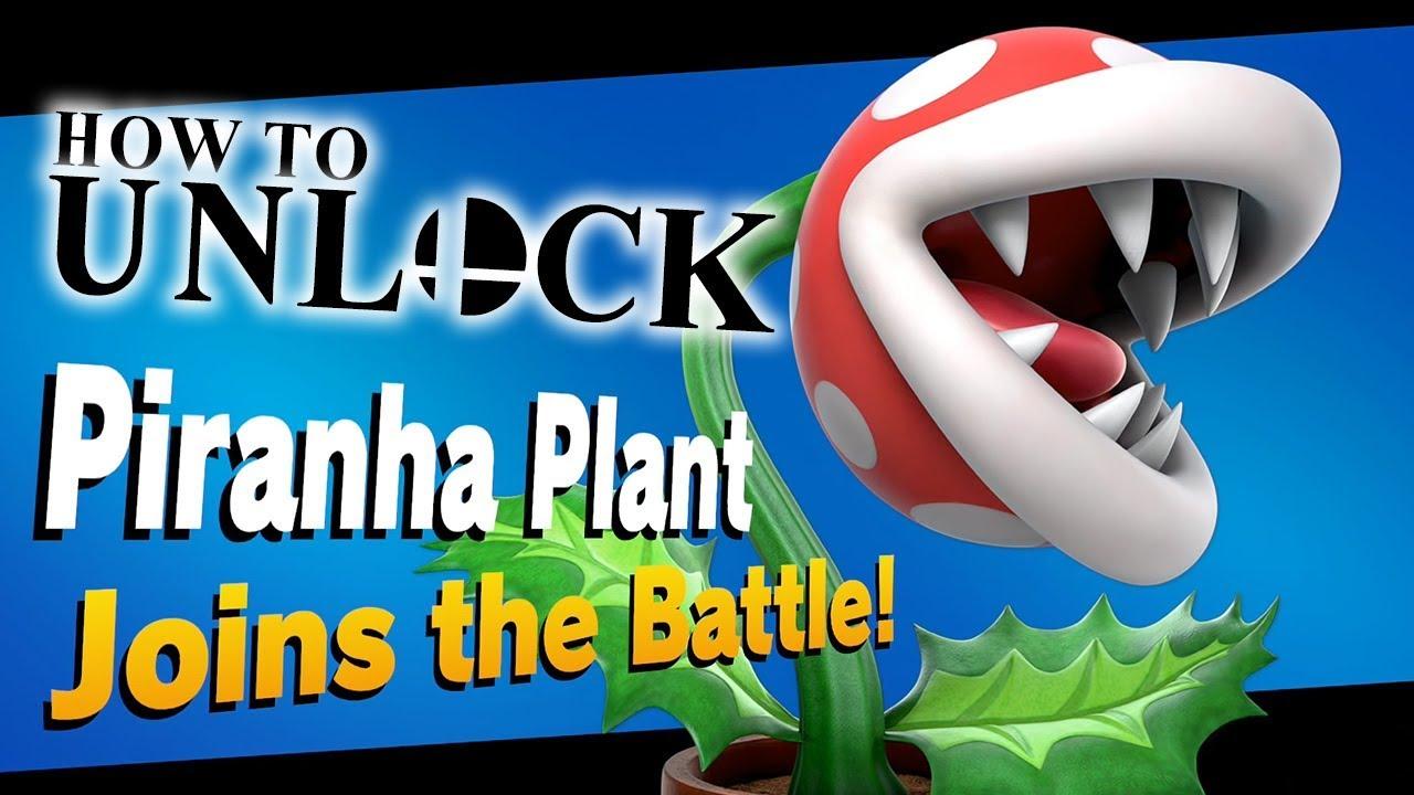 How to Unlock Piranha Plant in Super Smash Bros Ultimate ...